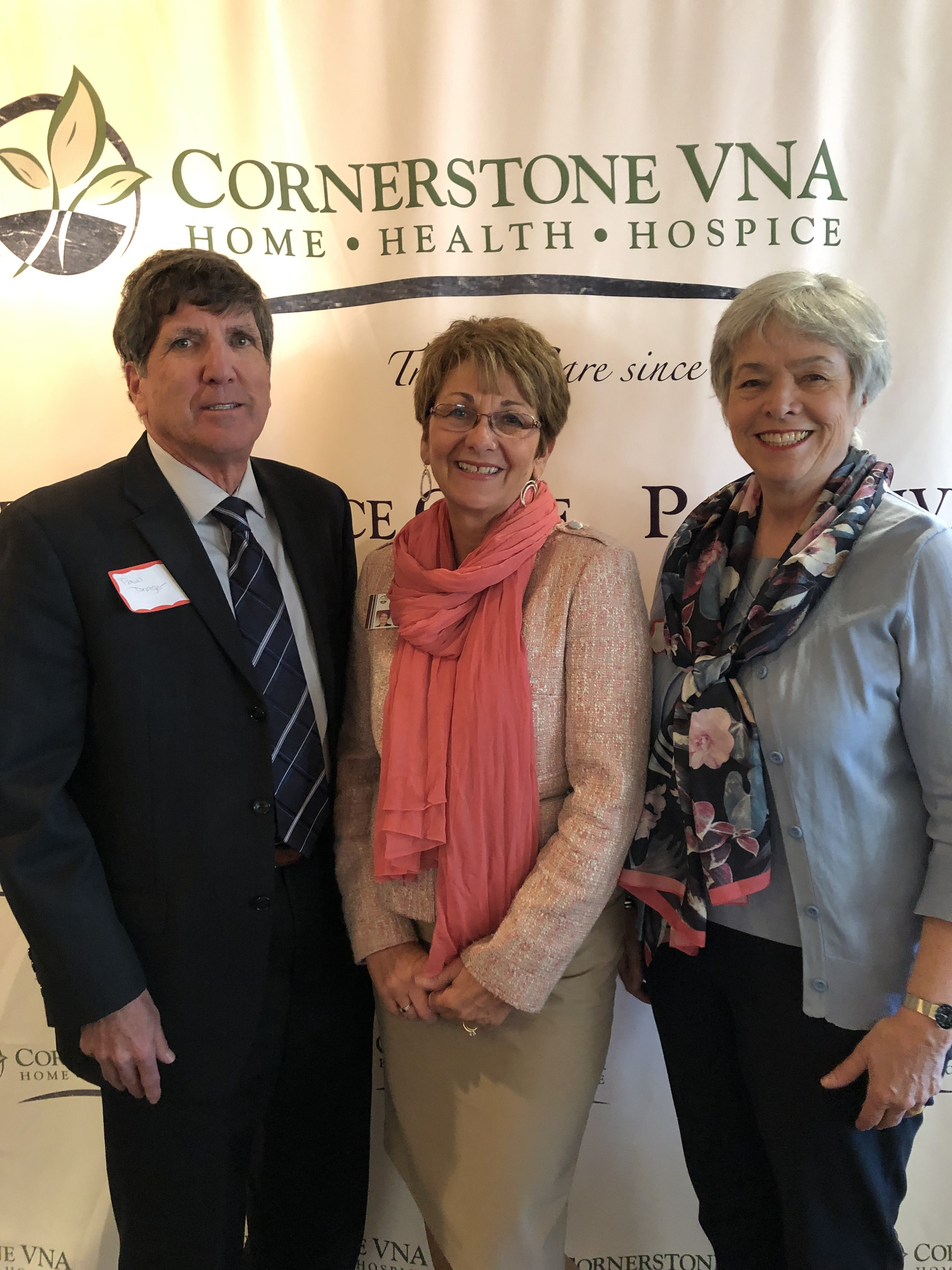 Cornerstone VNA Announces New Board President, Officers and Members